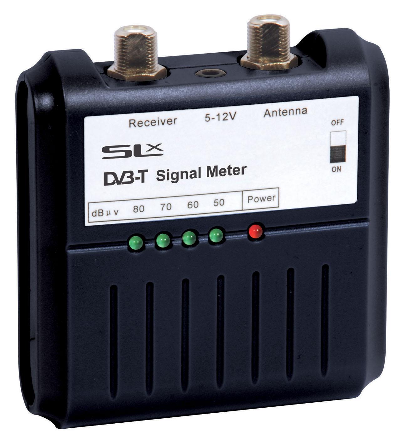 Coaxial Cable Signal Strength Tester : Slx digital tv signal meter philex electronics ltd