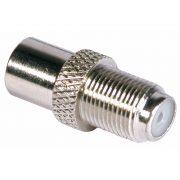 Cable Connectors - PHILEX F Socket To Coax Plug - Nickel
