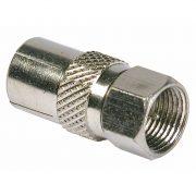 Cable Connectors - PHILEX F Plug To Coax Socket - Nickel