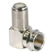 Cable Connectors - PHILEX Right Angled F Adaptor