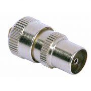 Cable Connectors - PHILEX Brass Coax Plug