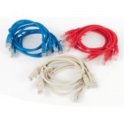 Patch Leads - Philex UTP CAT5E cable 0.5M Pack of 12