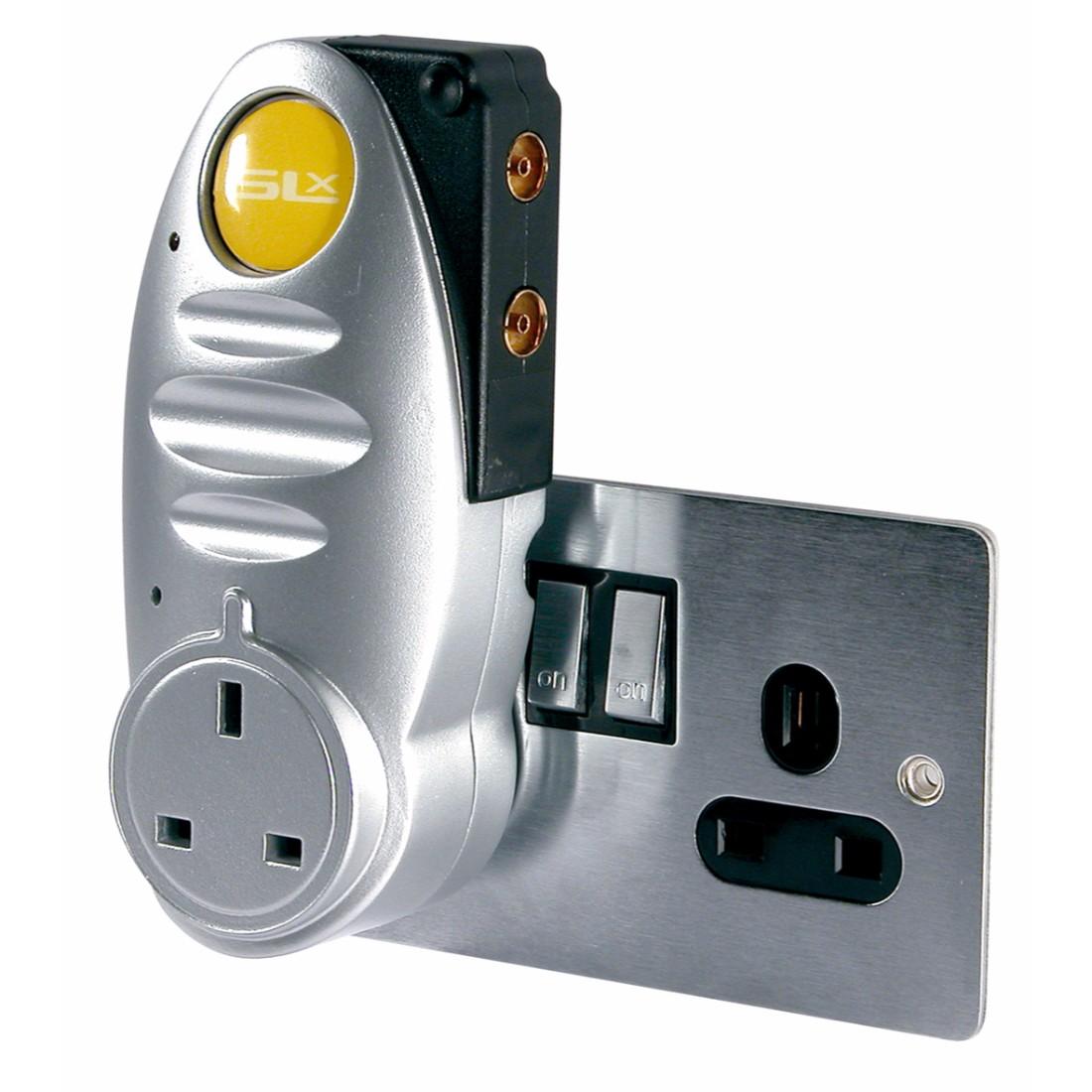 Slx Gold 1 Way Plug Thru Signal Booster 4g Compatible