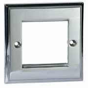 Modular System - Philex 4G Faceplate Polished Chrome