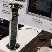 PowerPods - Sensiopod 2.5m 3G Stainless Steel PowerPod w/USB