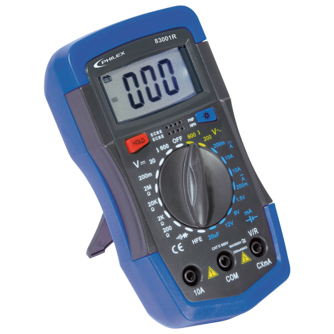 Cat Iii Multimeter : Philex cat iii a v digital multimeter w battery test