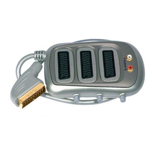 SLX AV Selector - 3X SCART/2X Phono