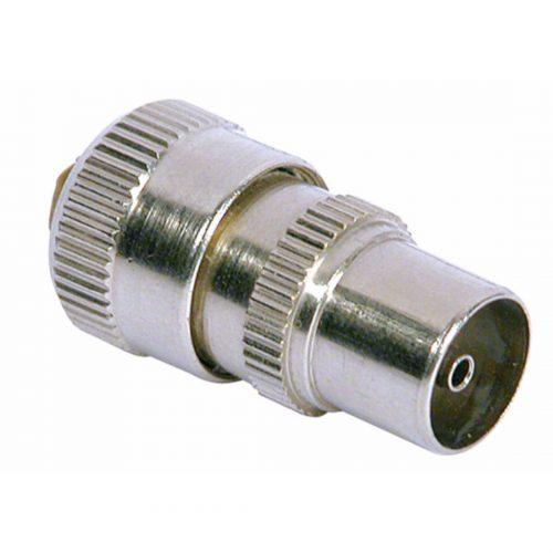 PHILEX Brass Coax Plug