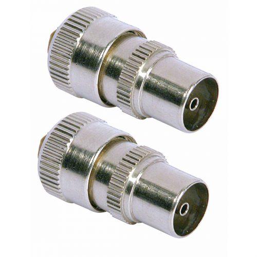 Cable Connectors - PHILEX Coax Plugs - 2 Pack