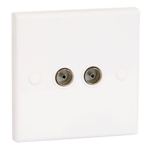 PHILEX TV/FM Outlet Plate