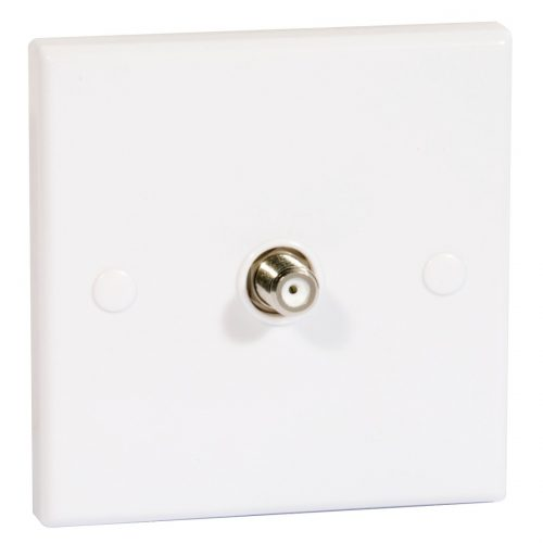 Single Flush Outlet F Socket