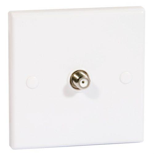 Single Flush Outlet F Socket