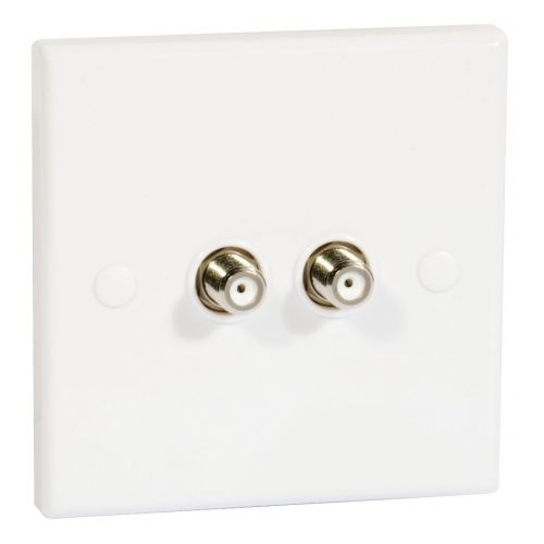 PHILEX Twin Flush Outlet F Skt For Sky+