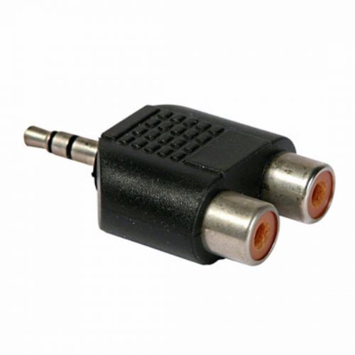 PHILEX 3.5mm Plug To 2 Phono Adaptor