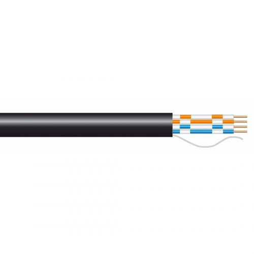 PHILEX Black 2 pair CW1308 phone cable