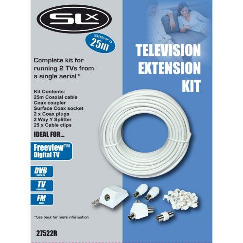 SLx TV Aerial Extension Kit 25m
