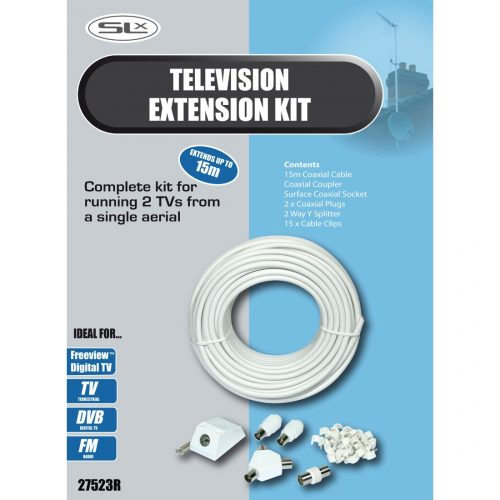 SLx TV Aerial Extension Kit 15m