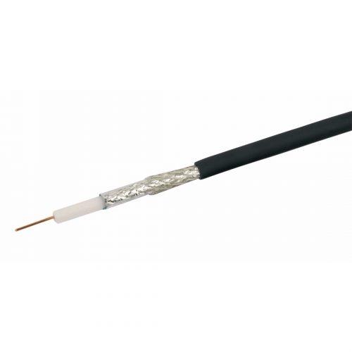 Philex Black RG6 type sat cable 75 ohms - 250m