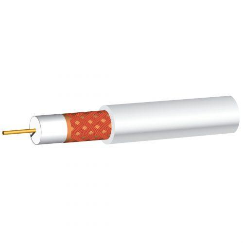 Philex White PF100 satellite cable - 100m