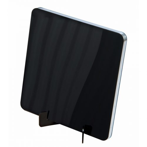 SLx Flat Amplified Indoor Aerial - Black