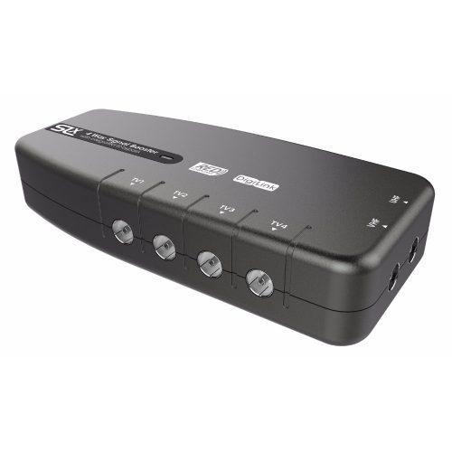 SLx 4-Way TV Signal Booster with IR Bypass