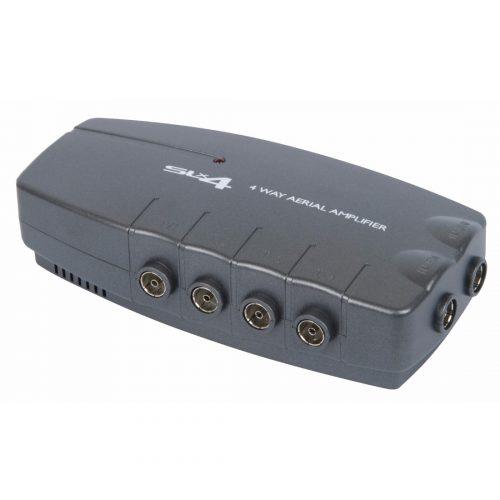 SLx Four Output Aerial Distribution Amplifier - 4G Compatible