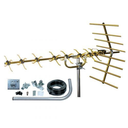 SLx 4G 48 Element Gold Digital TV Aerial Kit
