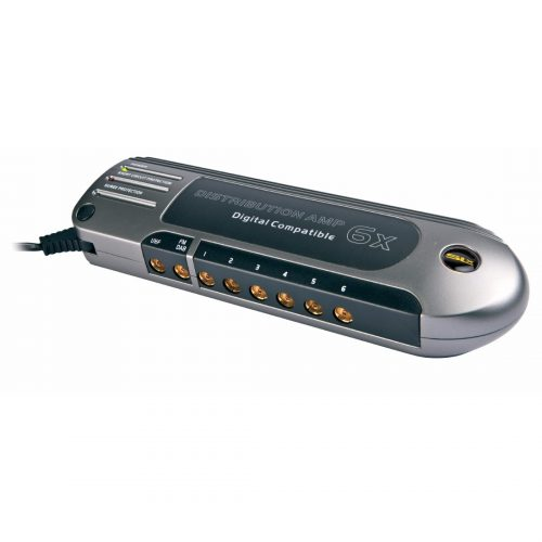 SLx Gold Six Output Aerial Distribution Amplifier - 4G Compatible