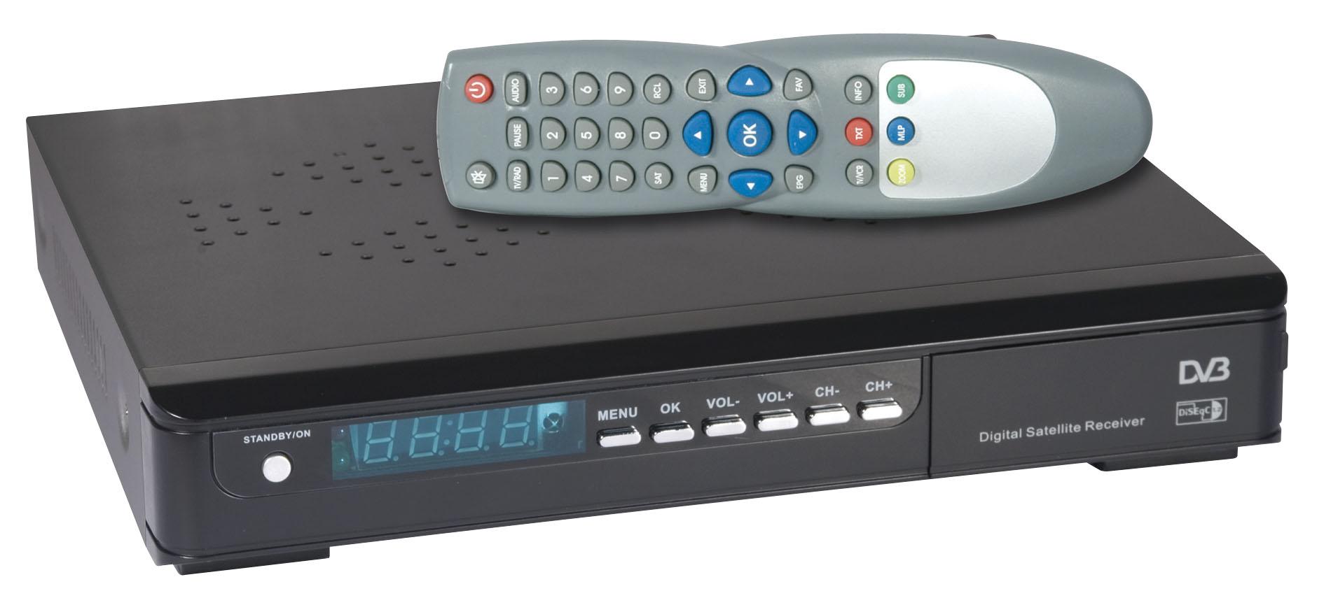 digital satellite receiver free to air