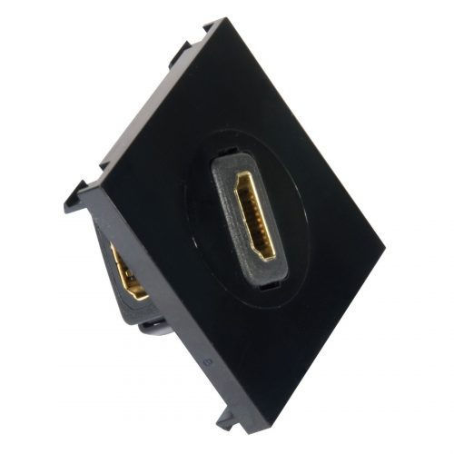 PHILEX Rotating HDMI Outlet - Black