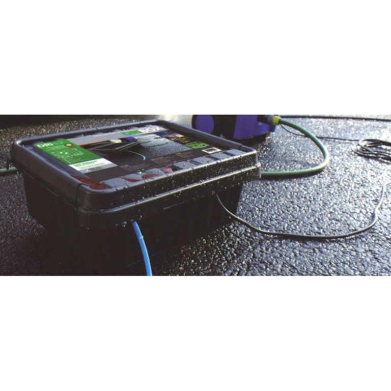 DRiBOX® IP55 Weatherproof Box, Medium, Black