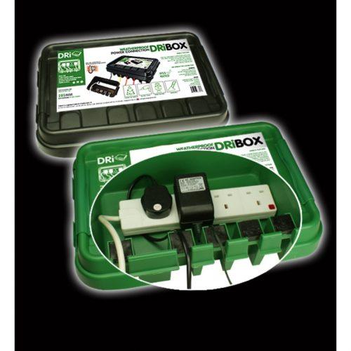 DRiBOX® IP55 Weatherproof Box, Medium, Green