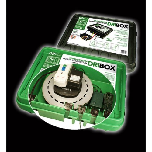 DRiBOX® IP55 Weatherproof Box, Large, Green