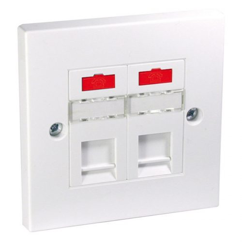Philex ADSL Microfiltered Flush Faceplate
