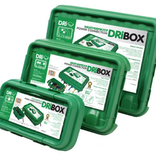 DRiBOX® IP55 Weatherproof Box – Triple Pack Combo - Green