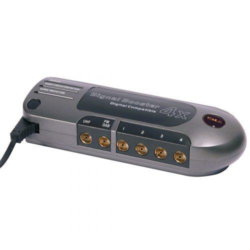 SLx Gold Four Output Distribution Amplifier - 4G Compatible
