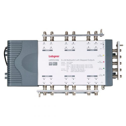 Labgear 5 Input 24 Output Stepped Multiswitch Quad/Quattro compatible
