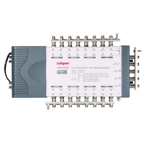 Labgear 5 Input 32 Output Stepped Multiswitch Quad/Quattro Compatible