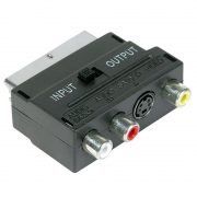 SLx Scart/3 RCA /S-VHS Adapter