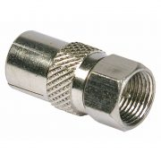 Cable Connectors - PHILEX F Plug To Coax Socket - Nickel