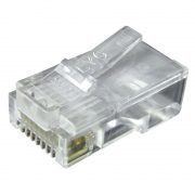 Connectors & Adaptors - PHILEX RJ45 8p8c Connectors (pack of 100) - Stranded Cable